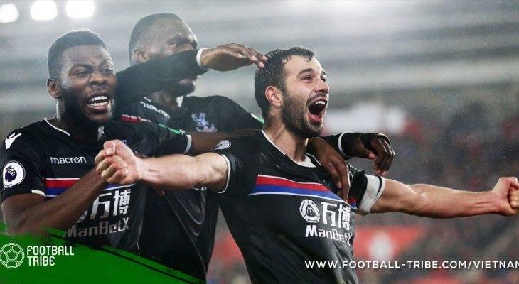 Premier League: City thắng nhàn, Palace tiếp đà thăng tiến