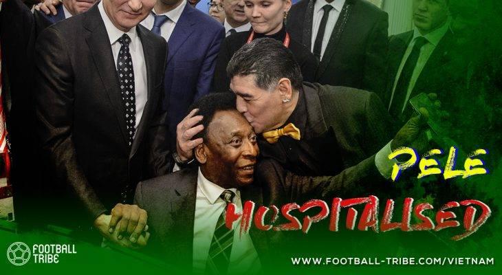 Huyền thoại Pele nhập viện khẩn cấp