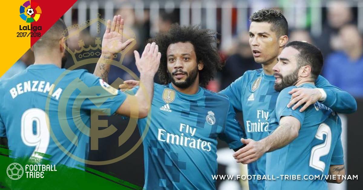 Vòng 21 La Liga 2017/2018: Kền Kền Trắng kéo sập Hang Dơi
