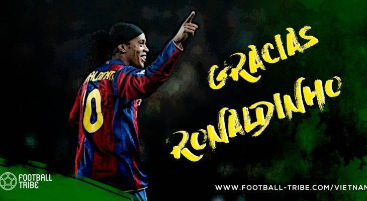 Ronaldinho, người nghệ sỹ đích thực và nụ cười chưa bao giờ tắt