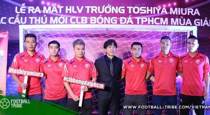Đội bóng của Công Vinh ra mắt HLV Miura và bảy cầu thủ mới