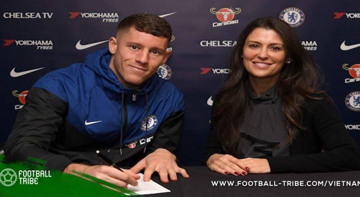 CHÍNH THỨC: Ross Barkley gia nhập Chelsea