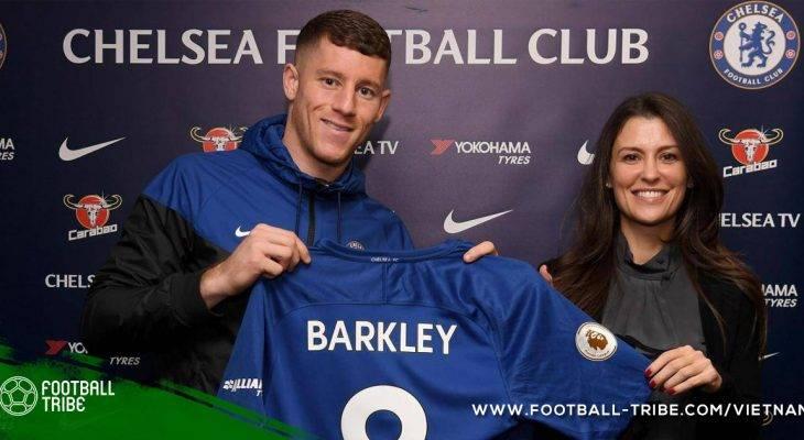 Những điều thú vị về tân binh Ross Barkley của Chelsea