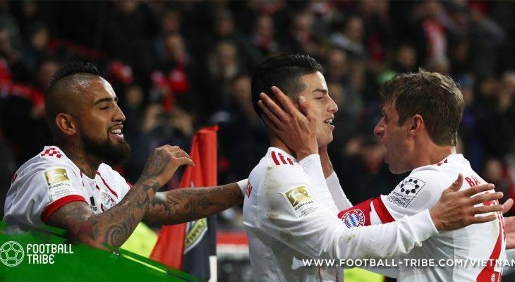 """Bản tin trưa 13/1: Bayern Munich """"một mình một ngựa"""" về đích"""