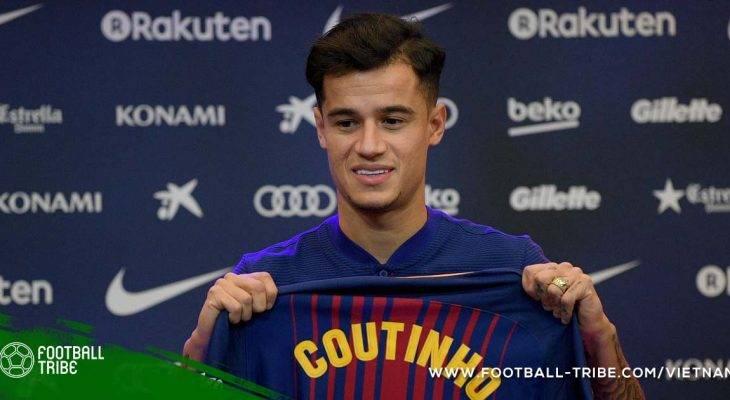 Coutinho nghẹn ngào chia tay Liverpool