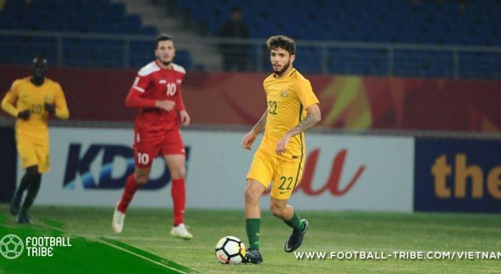 Sao U23 Australia mơ được dự World Cup 2018