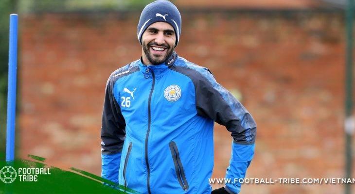 Bản tin tối 7/1 : Mahrez đang hạnh phúc tại Leicester