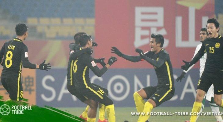 VCK U23 châu Á: HLV của Malaysia tự hào về các học trò