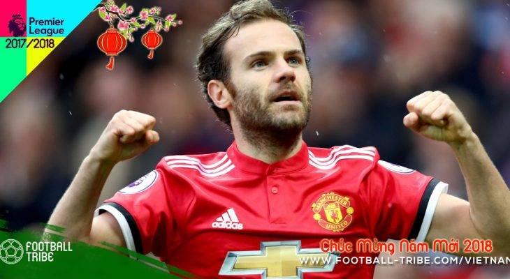 Bản tin tối 31/1: Man Utd gia hạn hợp đồng với Juan Mata