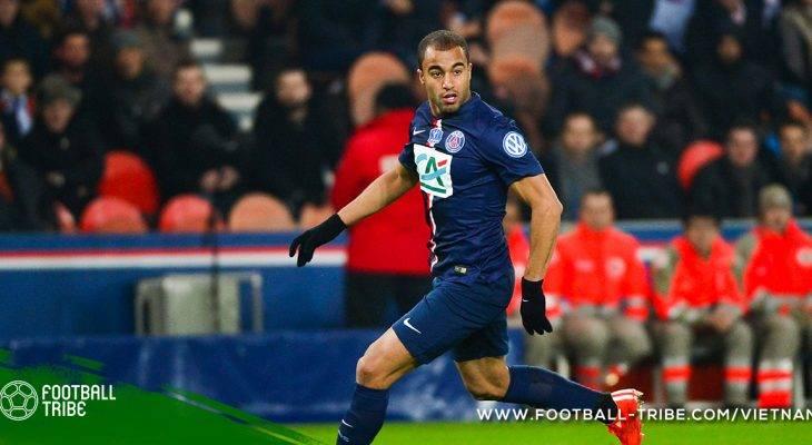 Lucas Moura úp mở khả năng chuyển đến Man Utd