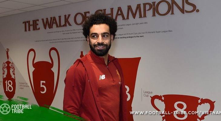 Salah lên dây cót tinh thần trước trận gặp Man City