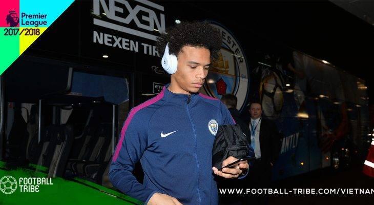 Manchester City có nguy cơ thiếu vắng Leroy Sane trong một tháng
