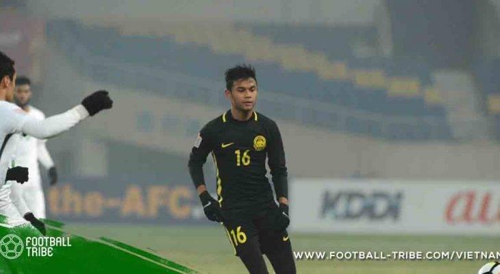 """U23 châu Á: Sao Malaysia tự tin """"xé lưới"""" Hàn Quốc"""