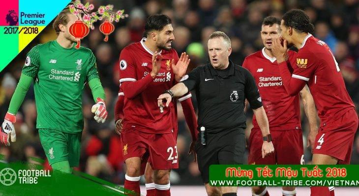 Chân dung trọng tài tước đi chiến thắng của Liverpool