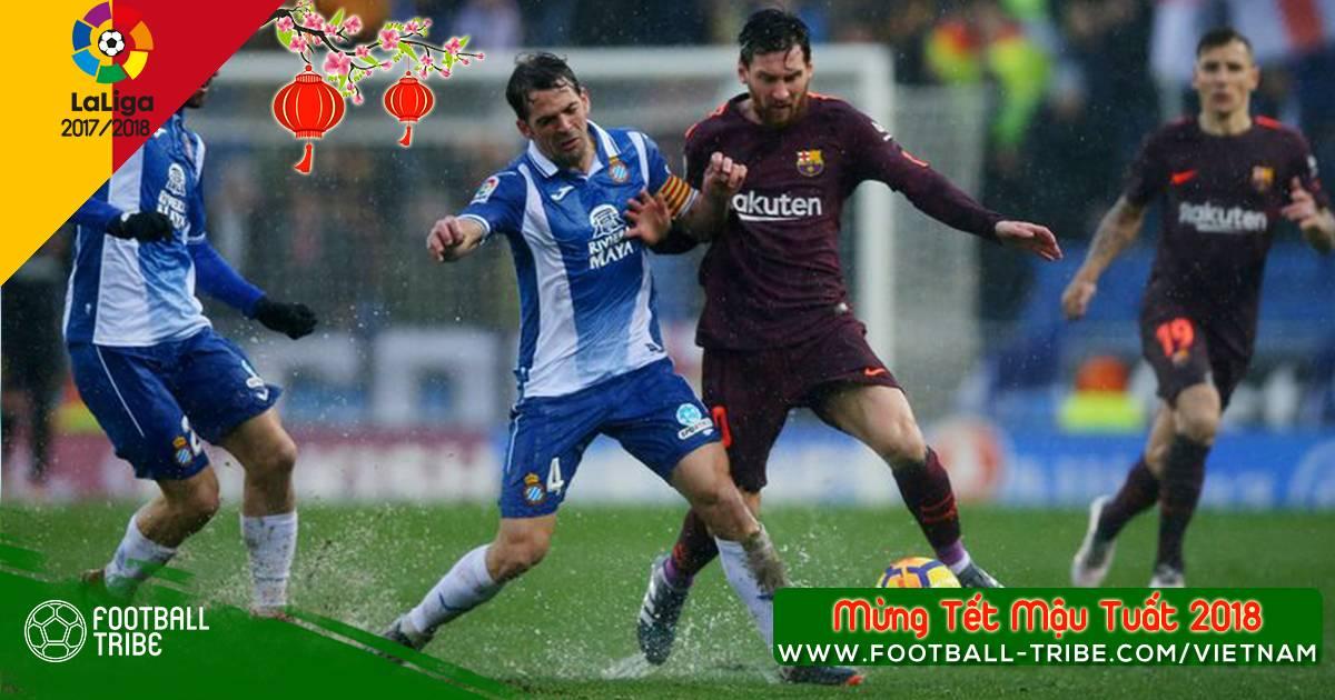Vòng 22 La Liga 2017/18: Một điểm là đủ với Barcelona