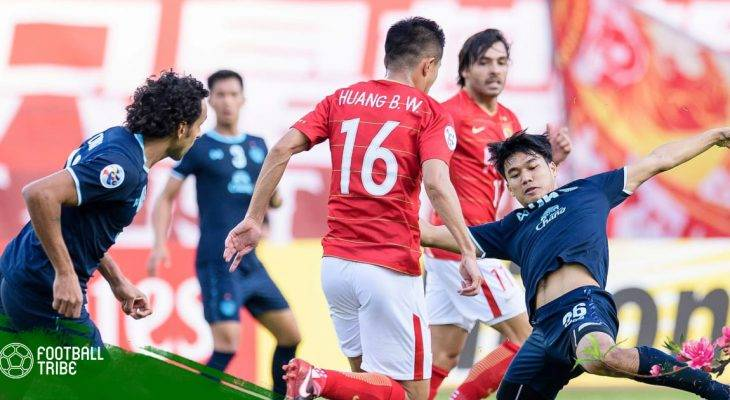Buriram United có điểm số đầu tiên tại AFC Champions League