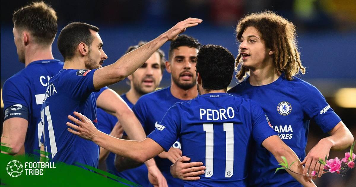 Chelsea chạy đà hoàn hảo cho Champions League