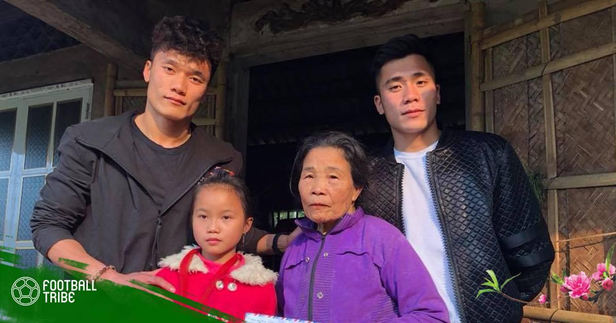 Chuyển động bóng đá Việt Nam ngày 15/2: Anh em Bùi Tiến Dũng đi làm từ thiện trước Tết