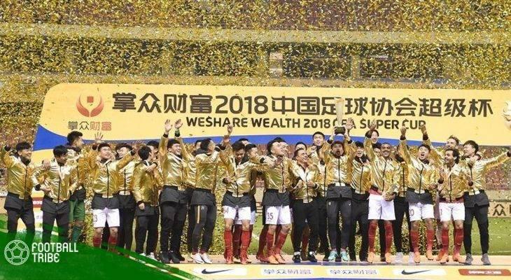 Guangzhou Evergrande đăng quang Siêu Cúp Trung Quốc