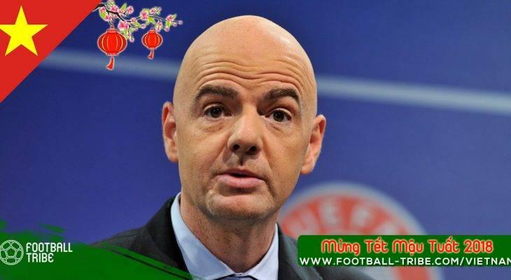 Chủ tịch FIFA tới thăm Việt Nam sau thành công của U23 Việt Nam