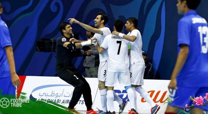 Cựu cầu thủ Thái Sơn Nam lập hat-trick, Iran hủy diệt Thái Lan