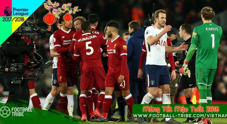 Vòng 26 Premier League 2017/18: Liverpool và Spurs cầm chân nhau trong trận đấu kịch tính nhất kể từ đầu mùa