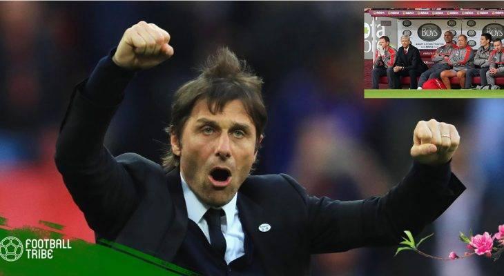 Oliver Giroud chỉ ra điểm khác biệt giữa Antonio Conte và Arsene Wenger