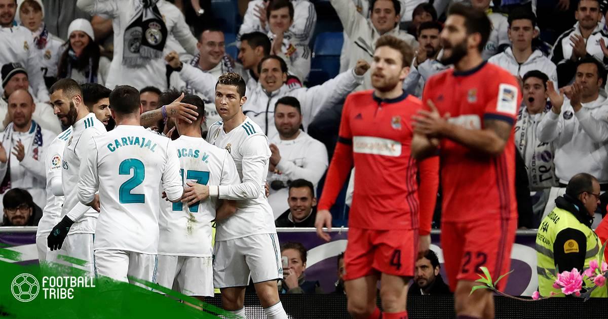 Vòng 23 La Liga 2017/18| Real Madrid 5-2 Sociedad: Điểm sáng cho 'cuộc hẹn Valentine'