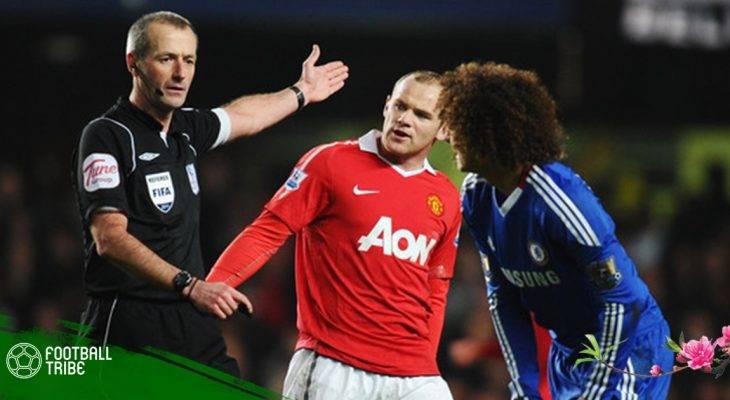 """Martin Atkinson – """"Hung thần áo đen"""" của Man United!"""
