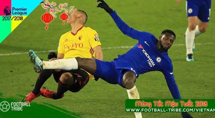 """Bakayoko nhận """"mưa gạch đá"""" sau trận thua Watford"""