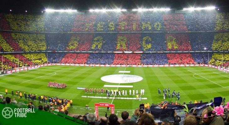 Barcelona chuẩn bị bán tên sân vận động Camp Nou