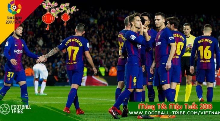 Bản tin trưa 2/2: Barca nắm lợi thế ở BK lượt đi Cup nhà Vua