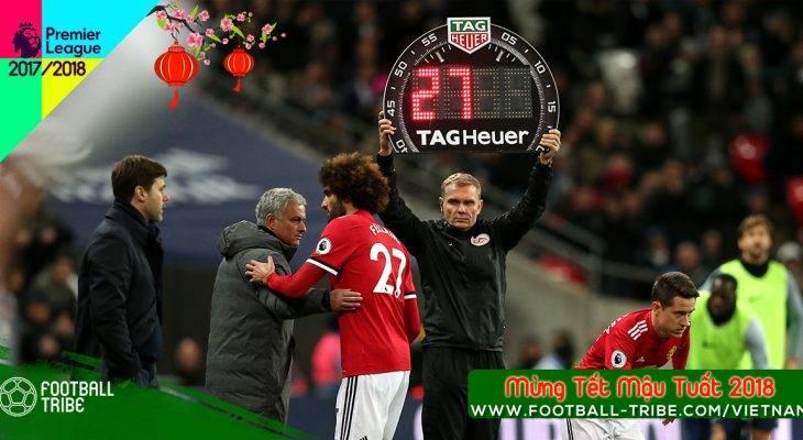 Jose Mourinho giải thích lý do thay Fellaini