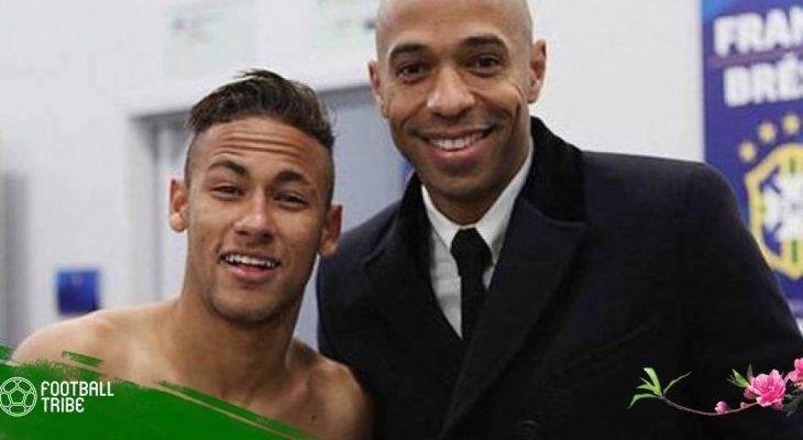 Henry khuyên Neymar nên giải nghệ