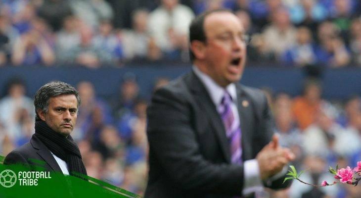 Những lần khẩu chiến giữa Jose Mourinho và Rafa Benitez