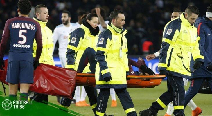 Bản tin trưa 26/2: Neymar rơi nước mắt khi rời sân bằng cáng