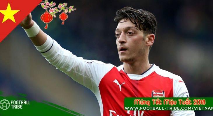 CHÍNH THỨC: Ozil gia hạn hợp đồng với Arsenal