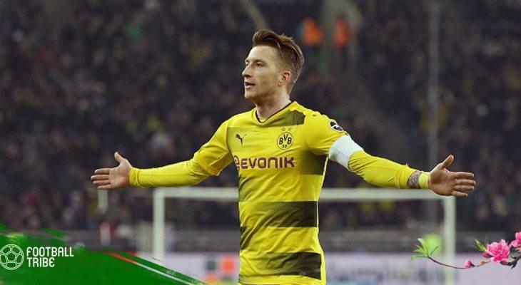 Bản tin trưa 19/2: Reus nổ súng, Dortmund đánh bại Monchengladbach