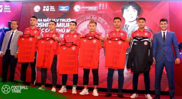 Điểm mặt những tân binh của TP HCM ở V.League 2018