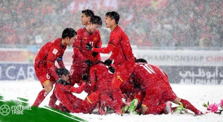 Những thành tích của bóng đá Việt Nam trong năm Đinh Dậu