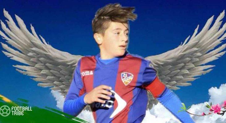 Sao trẻ người Tây Ban Nha qua đời trên sân bóng