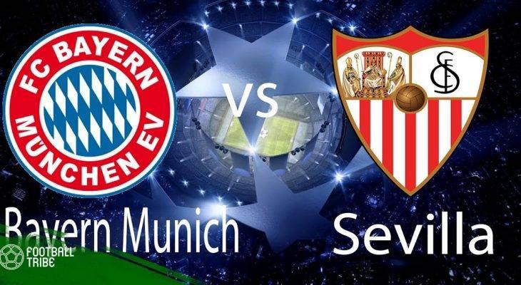Bayern Munich – Sevilla: Cuộc chiến không cân sức?