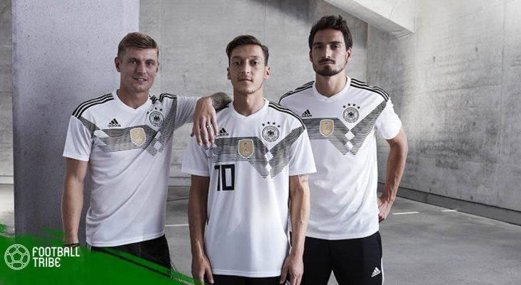 Cận cảnh bộ áo đấu tuyển Đức tại World Cup 2018