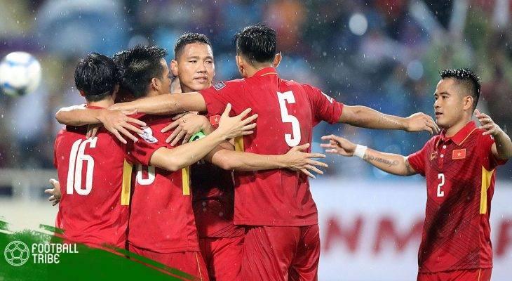 ĐT Việt Nam giữ vững ngôi đầu ĐNÁ trên BXH FIFA
