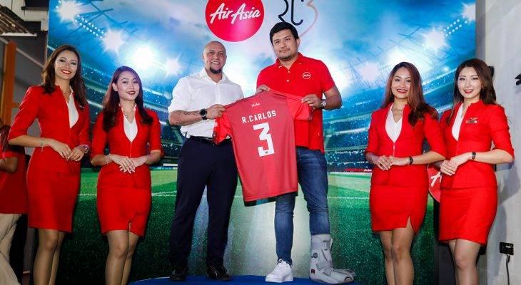 Roberto Carlos – Đại diện toàn cầu mới của AirAsia