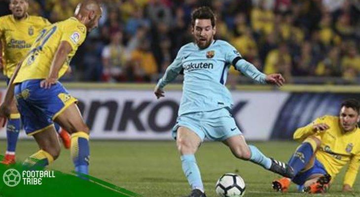 Bị Las Palmas cầm hòa, Barca đánh mất lợi thế trước đại chiến với Atletico