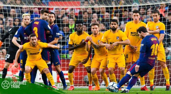 Vòng 27 La Liga 2017/18| Barcelona 1-0 Atletico Madrid: Mốc 600 quyết định mùa giải