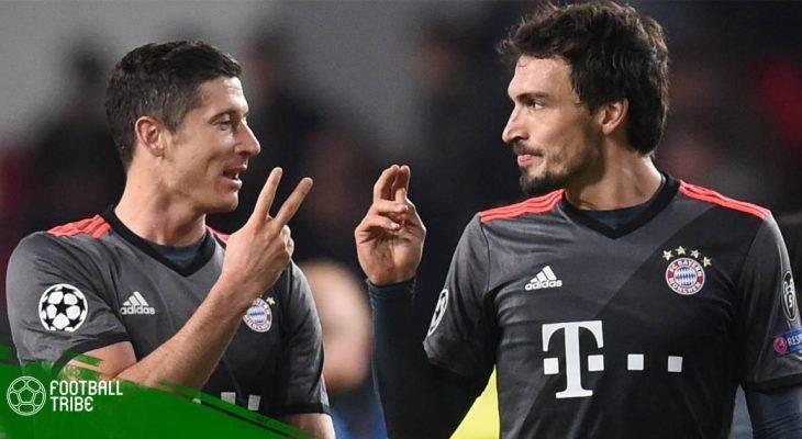 """Bản tin trưa 2/3: Lewandowski và Hummels """"nổi loạn"""" trên sân tập"""