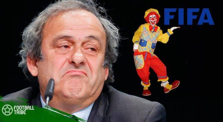 """Cựu chủ tịch UEFA gọi FIFA là """"thằng hề"""""""