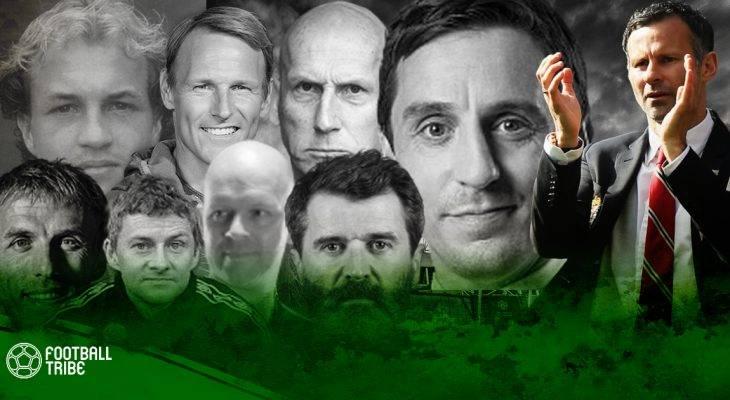 """Ryan Giggs và những HLV thuộc """"Thế hệ Vàng"""" của Manchester United"""
